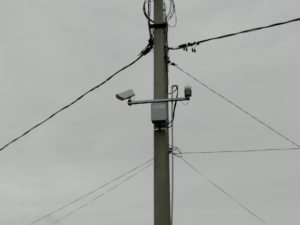 Автоматическая метеостанция Vaisala WXT530 + бесконтактный датчик температуры дорожной поверхности Vaisala DST111 с комплексом беспроводной передачи данных
